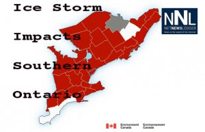 Southern Ontario and Toronto are reeling from a massive ice storm