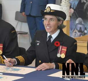 Captain Jill Marrack Honoured as Top 100 Powerful Women