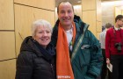 Madge Richardson, seeking nomination in TBA with Andrew Foulds the Thunder Bay Superior North NDP candidate.