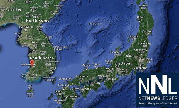 The Democratic People's Republic of Korea is just east of Japan. The secretive nation is announcing a major Rare Earth Metals find.