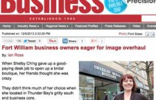 Northern Ontario Business - A view of how others see us here in Thunder Bay South