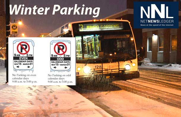 Calendar Parking Rules Help Thunder Bay City Crews do a better job.