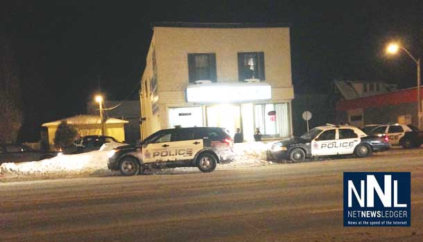 Thunder Bay Police responded with five units to a call on May Street Friday Night