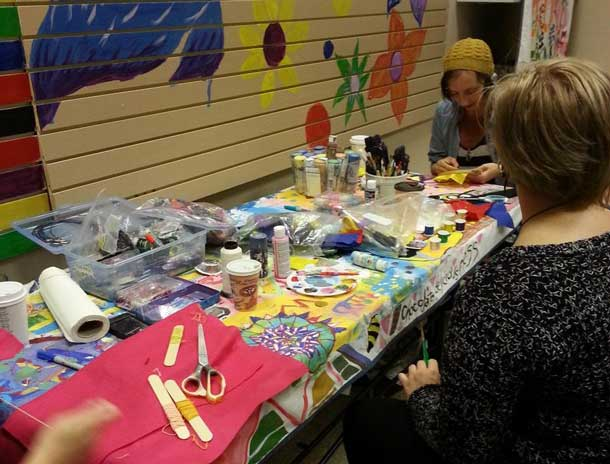 Exploring the artistic side at Youth Centres TBay