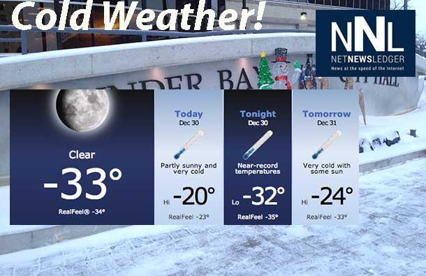 Northern Ontario Drops into Deep Freeze - Net Newsledger