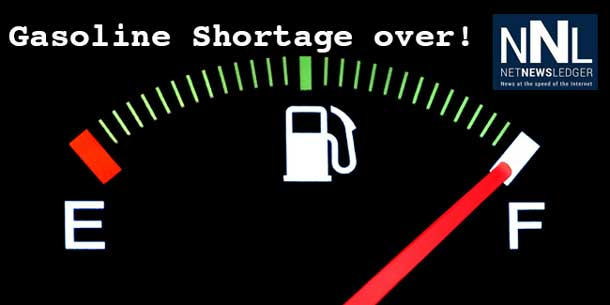 Gasoline Shortage Over in Thunder Bay
