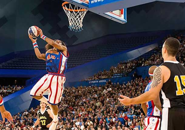 The Harlem Globetrotters are about to head out again on tour.