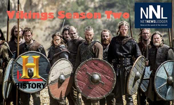 Vikings returns to History for Season Two
