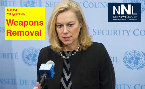 Special Coordinator of the OPCW-UN Joint Mission on eliminating Syria's chemical weapons programme Sigrid Kaag. UN Photo/Evan Schneider