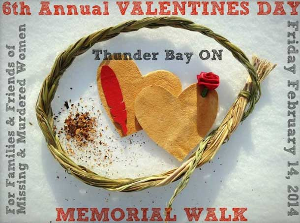 The 6th Annual Valentines Day Memorial Walk will be February 14 2014