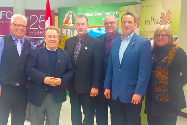 $3.5 million in funding announced by Minister Greg Rickford and Minister Michael Gravelle