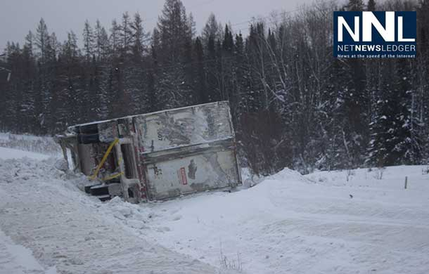 Highway 17 north of Nipigon has had numerous accidents this winter.