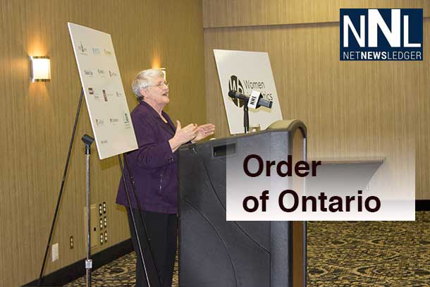 Lyn McLeod will receive the Order of Ontario in a ceremony in Toronto on Thursday