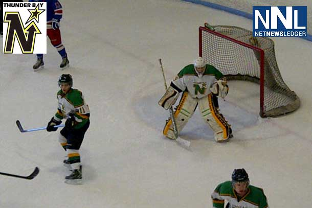 Thunder Bay North Stars are playing hot in Spooner Wisconsin
