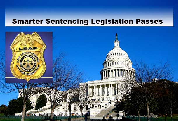 Smarter sentencing legislation passes.