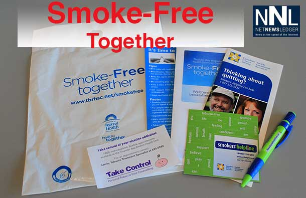 Smoke Free Care Kit at Thunder Bay Regional Health Sciences Centre