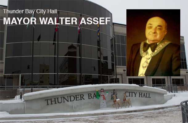 Mayor Walter Assef ruled city hall and set a tone that some loved, and others hated in Thunder Bay