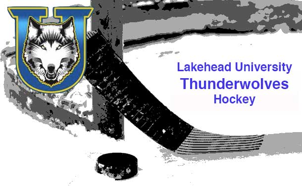 The Lakehead Thunderwolves are alone in Second Place...