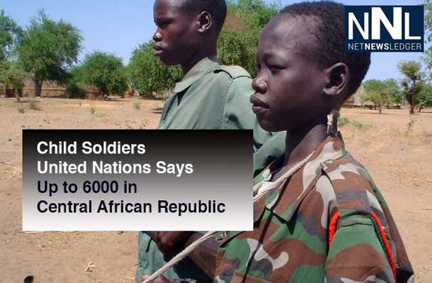 United Nations Image of Child Soldiers