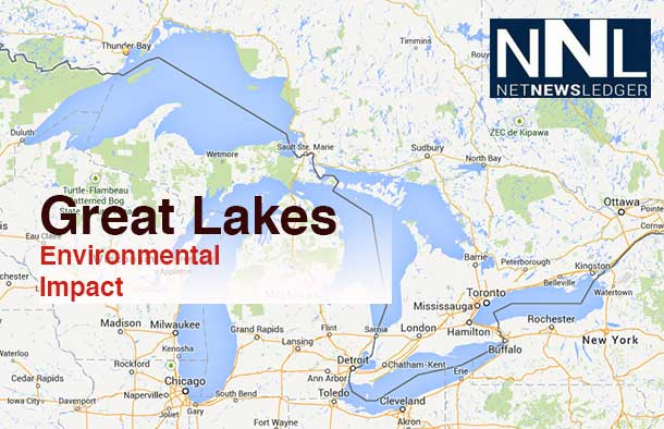 The impact on the communities around the Great Lakes is massive.