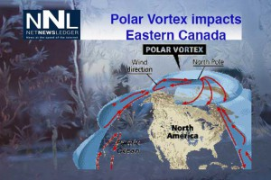 Chilling weather from the Polar Vortex is impacting as far south as Florida.