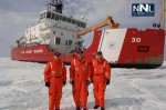 US Coast Guard Ice Breakers Working on Superior