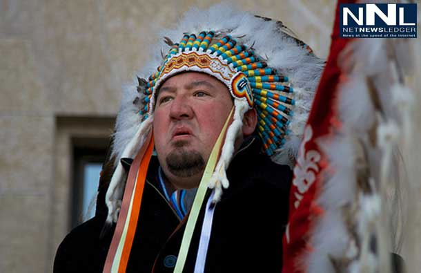Grand Chief Derek Nepinak of the Assembly of Manitoba Chiefs (AMC).