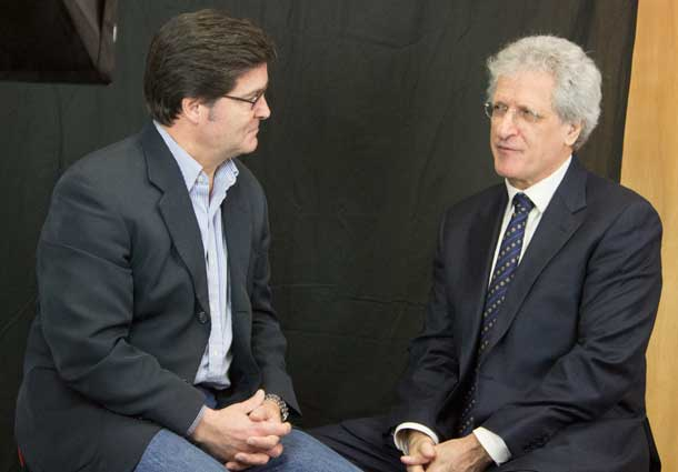 Frank Pullia speaks with the Hon. Joe Volpe about the plans for Corriere Canadese - An Italian language daily newspaper.