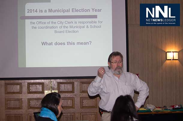 Thunder Bay City Clerk John Hannam is working to encourage greater voter turnout