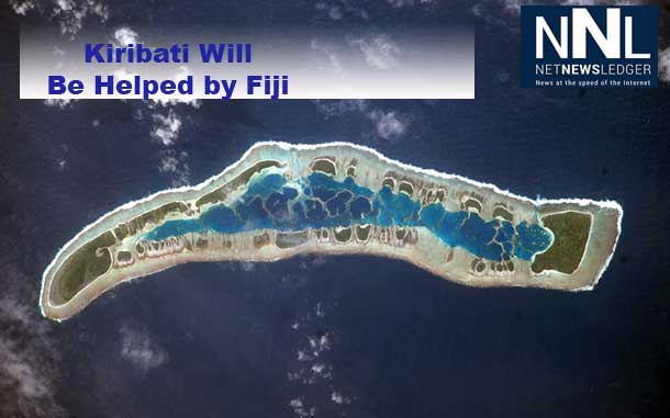 Kiribati Island is in danger of being submerged. Fiji says they will help the people of the island.