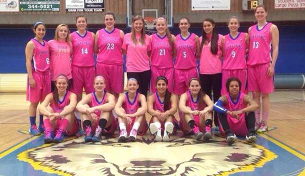 The Lakehead Thunderwolves women fell to McMaster at the Pink Game