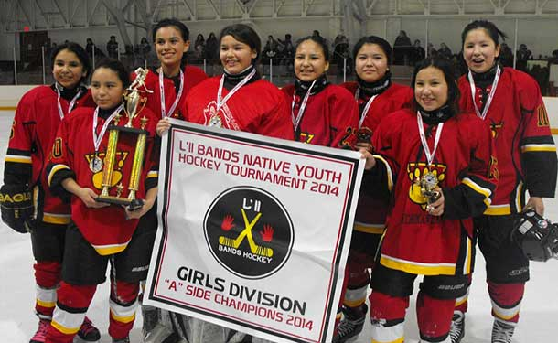 Little Bands 2014 Girls A Side Champs Sandy Lake