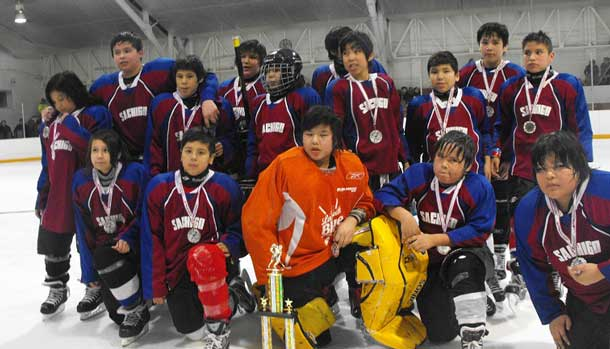 Little Bands Pee Wee Runners Up Sachigo Lake