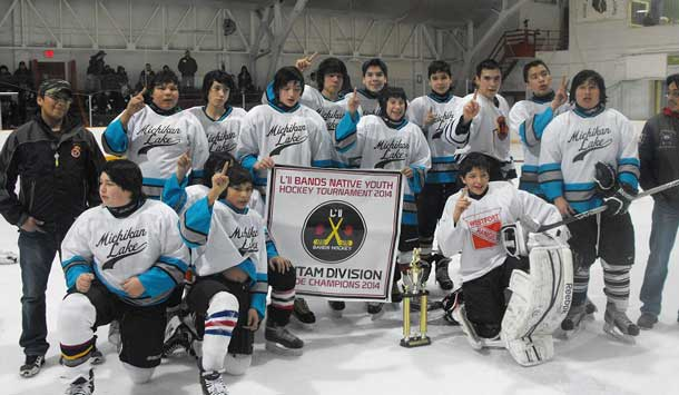 Little Bands Michikan Lake Bantam A Side Champs