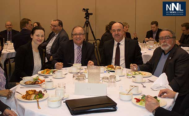Thunder Bay Chamber of Commerce Luncheon with Minister Valcourt. Photo by Kristen Wynn.