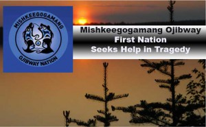 Mishkeegogamang Ojibway First Nation is in mourning and shock following a fire