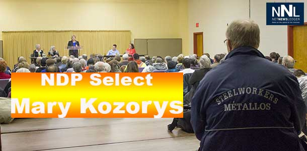 NDP members choose Mary Kozorys as their candidate