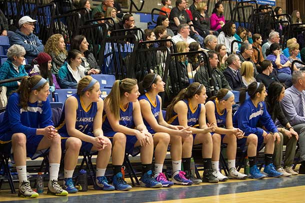 Lakehead University Women's Basketball Tearm - Photo by Kristin Loretta Wynn
