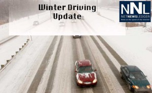 Winter road conditions will likely impact many travellers in Thunder Bay today