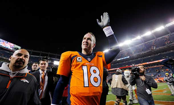 Denver Broncos Quarterback Payton Manning.