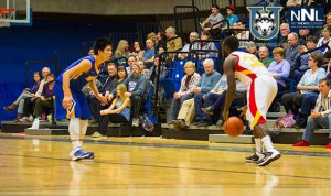Intensity was on the side of the Thunderwolves Men's Basketball team Saturday night.