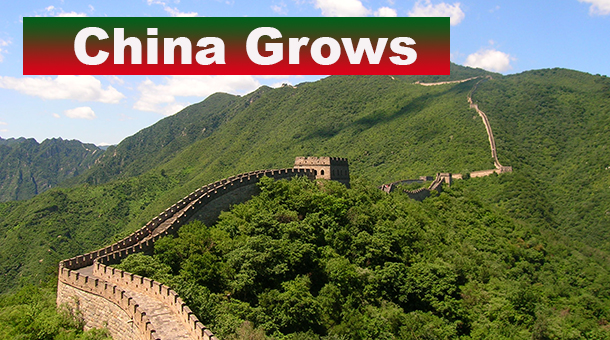 China continues to grow - Urbanization is a major
