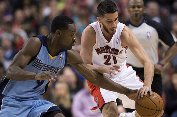 Toronto Raptors and Vancouver Grizzlies battled in NBA Action.
