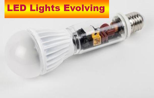 Gallium nitride transistors enable the compact design of this 2090 lumen retrofit LED lamp (exploded diagram for purpose of illustration). Credit: © Fraunhofer IAF