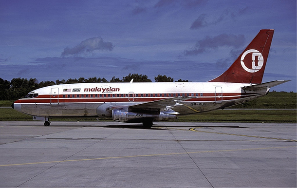 Malaysia Alrlines Boeing 737-200