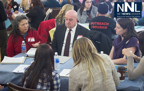 Mayor Hobbs and Councillor Rebecca Johnson were on hand to participate and listen.