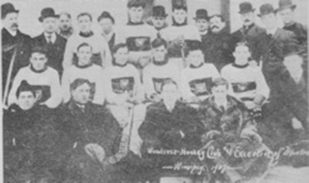 The Montreal Wanderers in 1907
