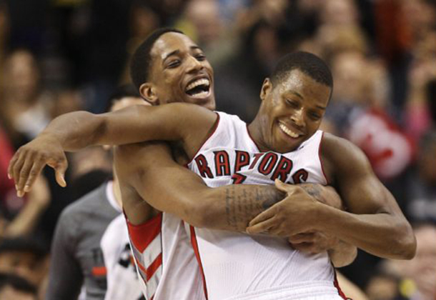 Ten Thoughts on the Raptors Hawks game.