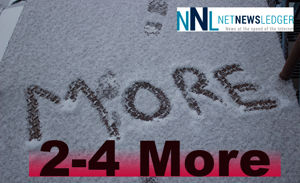 2-4 More CM of Snow.