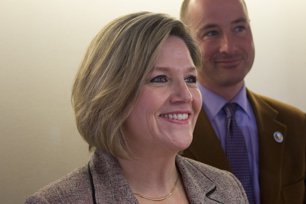 Andrea Horwath Speaking in Thunder Bay on Saturday on Northern Roads